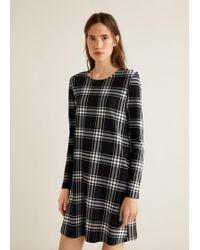 Mango - Buttoned Dress - Lyst