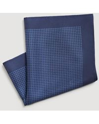 Mango - Polka-dot Silk Pocket Square - Lyst