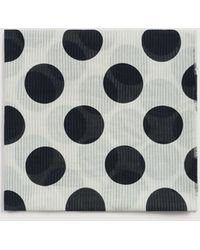 Mango - Spots Print Scarf - Lyst