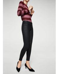 Mango | Waxed Skinny Belle Jeans | Lyst