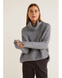 Mango - Turtle Neck Jumper - Lyst