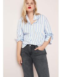 Violeta by Mango - Straight-fit Theresa Jeans - Lyst