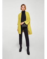 Mango | Side Pockets Cardigan | Lyst
