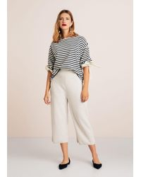 Violeta by Mango - Bows Striped Sweatshirt - Lyst