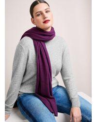 Violeta by Mango - 100% Cashmere Scarf - Lyst