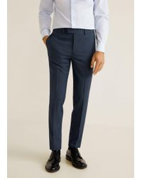 Mango - Super-slim Suit Trousers - Lyst