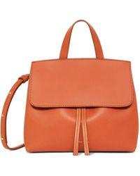 Mansur Gavriel - Brandy Mini Mini Lady Bag - Avion - Lyst