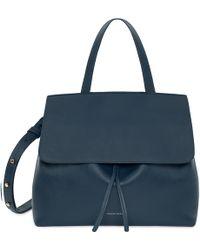 Mansur Gavriel - Calf Lady Bag - Blu - Lyst