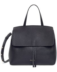 Mansur Gavriel - Tumble Mini Lady Bag - Black - Lyst