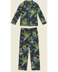 Marc Jacobs - Parrot Cotton Pajama Set - Lyst