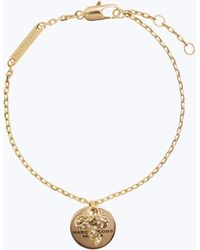 Marc Jacobs | Mj Coin Bow Bracelet | Lyst