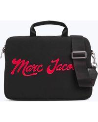 "Marc Jacobs | Neoprene Marc Embossed 13"" Commuter Laptop Case | Lyst"