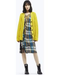 Marc Jacobs - Cable Knit Cardigan - Lyst