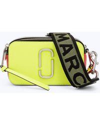 9a9ec32fdad Marc Jacobs - Fluorescent Snapshot Small Camera Bag - Lyst