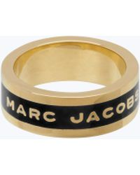 Marc Jacobs - Logo Disc Band Ring - Lyst