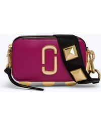Marc Jacobs - Studded Snapshot Small Camera Bag - Lyst