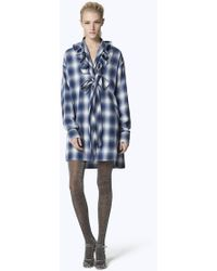 1bb953cc27a5 Marc Jacobs Lace Babydoll Dress in Black - Lyst