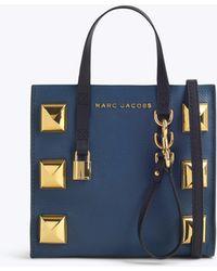 Marc Jacobs - Mini Grind Stud Tote Bag - Lyst