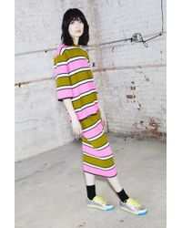 Marc Jacobs | Striped Pencil Skirt | Lyst