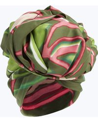 Marc Jacobs - Graphic Flowers Turban - Lyst