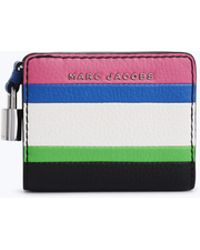 Marc Jacobs - The Grind Colorblocked Top Zip Multi Wallet - Lyst