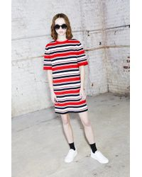 Marc Jacobs - Striped Cocoon Dress - Lyst