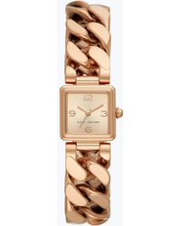 Marc Jacobs - Square Chainlink Watch 20mm - Lyst