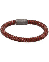 Carolina Bucci - Brown Twister Band Bracelet - Lyst