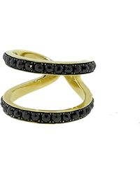 Sylva & Cie | Wonder Woman Black Diamond Ring | Lyst