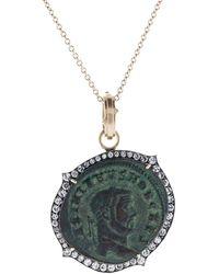 Sylva & Cie - Roman Genius Coin Pendant - Lyst