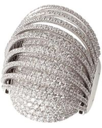 Mattia Cielo - Pavone Collections Small Ring With Diamonds - Lyst