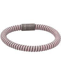 Carolina Bucci - Pink Twister Band Bracelet - Lyst