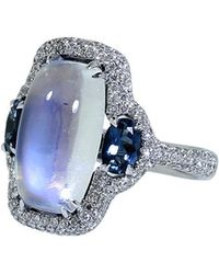 Inbar - Moonstone And Tourmaline Ring - Lyst