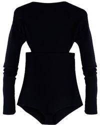 Victoria Beckham - Backless Bodysuit - Lyst