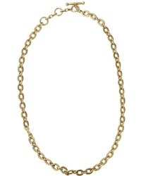 Vaubel - Tiny Circle Chain Necklace - Lyst