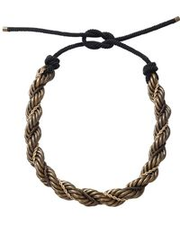 Lanvin - Katoucha Multi Chain Necklace - Lyst