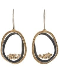 Todd Reed - Circle Drop Earrings - Lyst