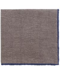 Eleventy - Solid Pocket Square With Trim - Lyst