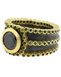 Todd Reed - Black Diamond Ring - Lyst