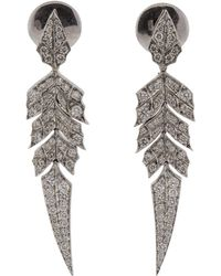 Stephen Webster - Pave Diamond Short Earrings - Lyst
