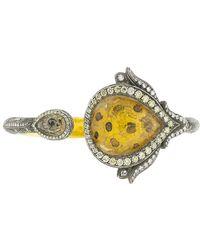 Sevan Biçakci - Hinged Sunflower And Diamond Bracelet - Lyst