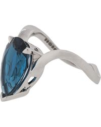 Stephen Webster - Blue Topaz Pear Shape Ring - Lyst