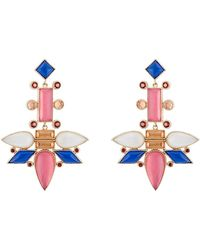 Larkspur & Hawk - Cora Topsy Turvy Chandelier Earrings - Lyst