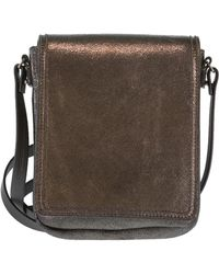 Brunello Cucinelli - Metallic Cross Body Bag - Lyst