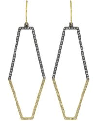 Todd Reed - Diamond Earrings - Lyst