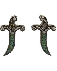 Sevan Biçakci | Dagger Stud Earrings | Lyst