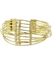 Boaz Kashi | Diamond Wire Wrap Cuff Bracelet | Lyst