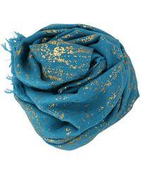 Bajra - Splatter On Wool Shawl - Lyst