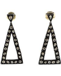 Yossi Harari - Sara Triangle Earrings - Lyst