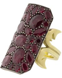 Gemfields X Muse - Ten Table Ruby Ring - Lyst